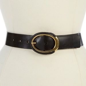 Michael Kors Genuine Leather Belt Sz. M New